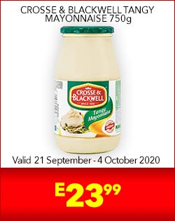 CROSSE & BLACKWELL TANGY MAYONNAISE 750g, E23,99