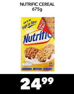 NUTRIFIC CEREAL 675g, 24,99